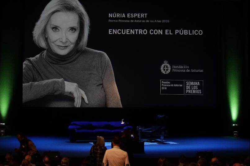 """""""Núria Espert: Encuentro con el público"""""""