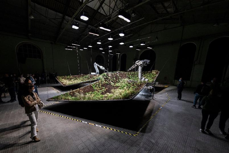 "Inauguration of the ""LAFPABRICA. Awards Factory"": ""Sylva. Art installation"""