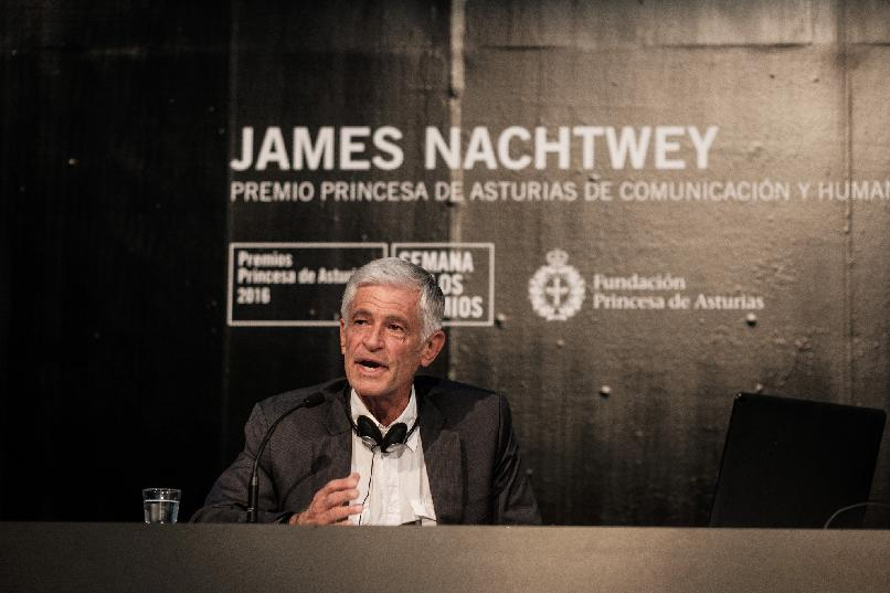 Conferencia de James Nachtwey