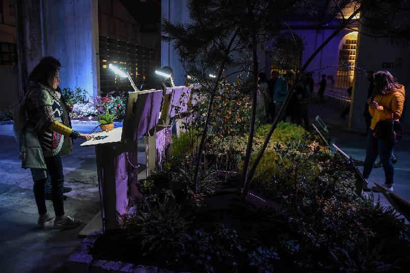 """Inauguración de """"LaFPAbrica. Fábrica en Premios"""": Instalación """"Jardín Sensorial"""""""