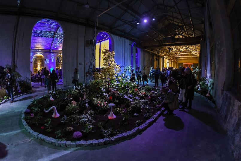 "Inauguration of ""LaFPAbrica. Awards Factory"": ""Sensory Garden"""