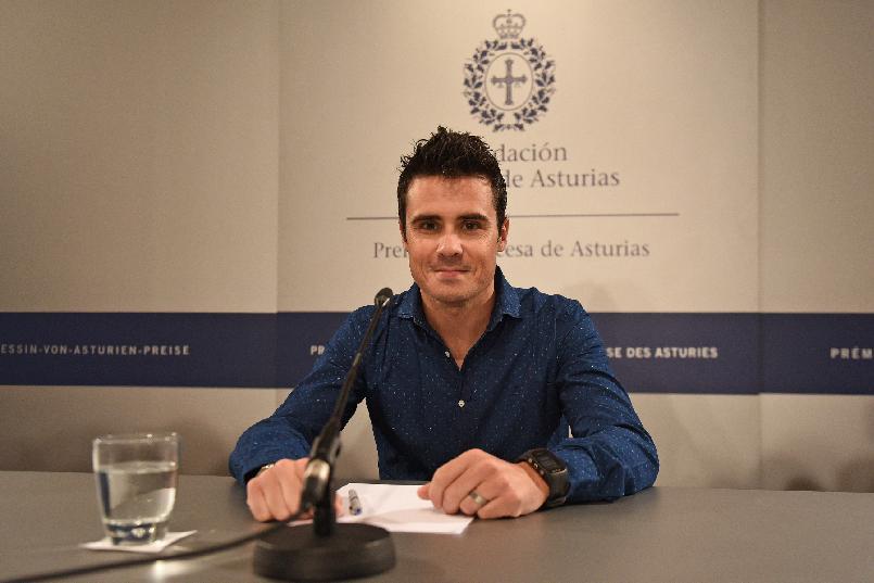 Rueda de prensa de Javier Gómez Noya