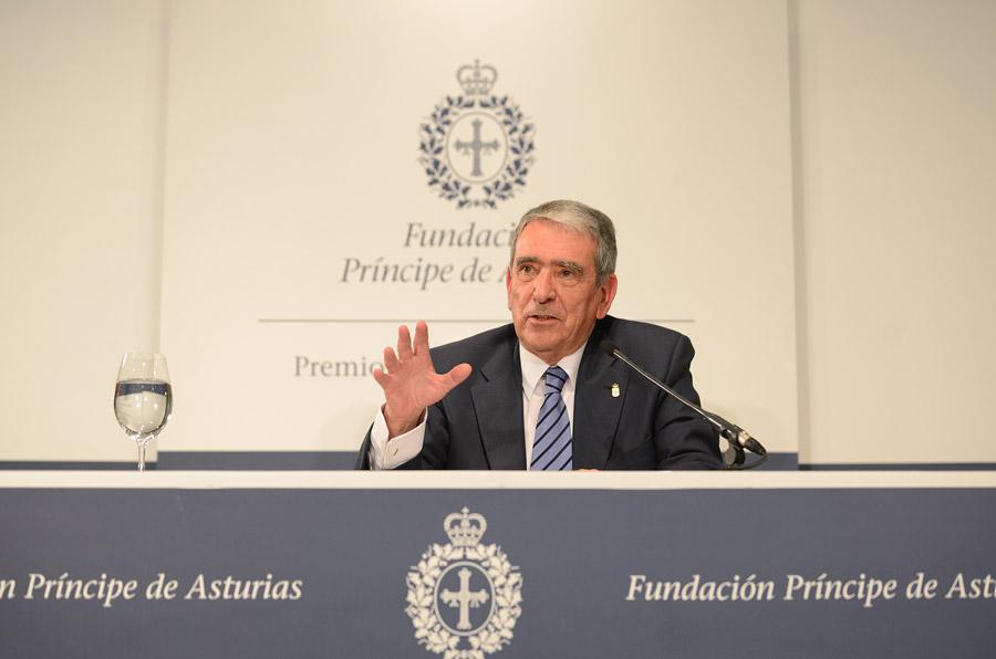 Rueda de prensa de José Antonio Busto, presidente de la Federación Española de Bancos de Alimentos