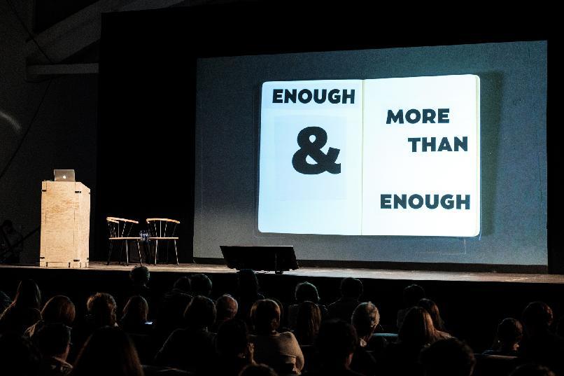 """""""Enough and more than enough"""" / """"Suficiente y más que suficiente"""""""