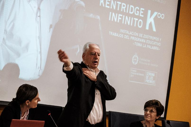"""Taking the Floor"". Infinite Kentridge/∞K"