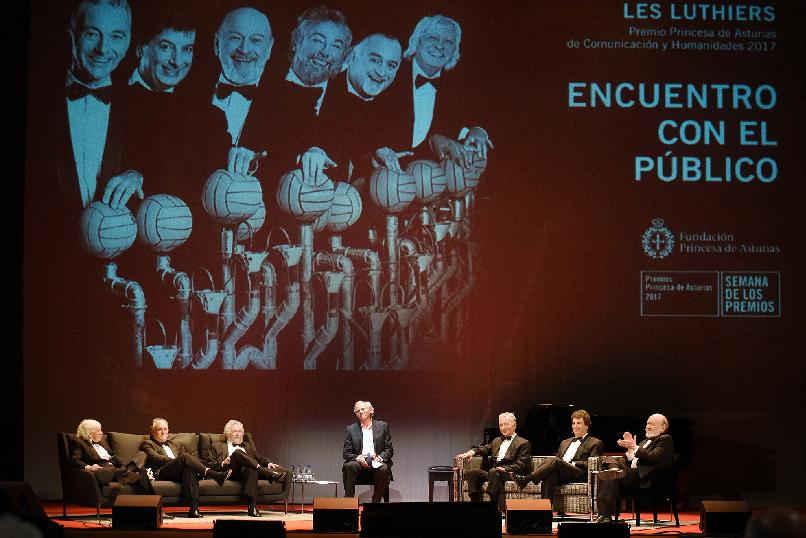 """""""Les Luthiers. Encuentro con el público"""""""