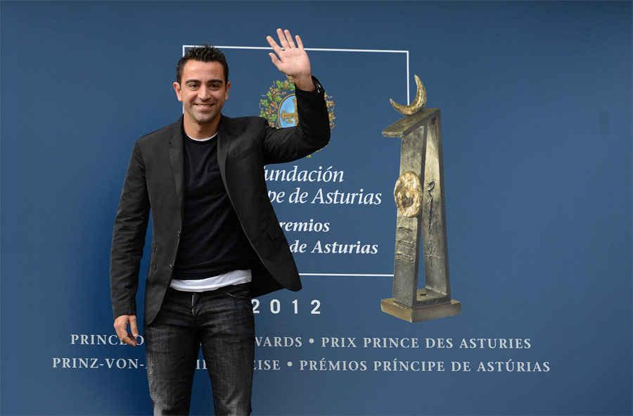 Arrive of Xavier Hernández