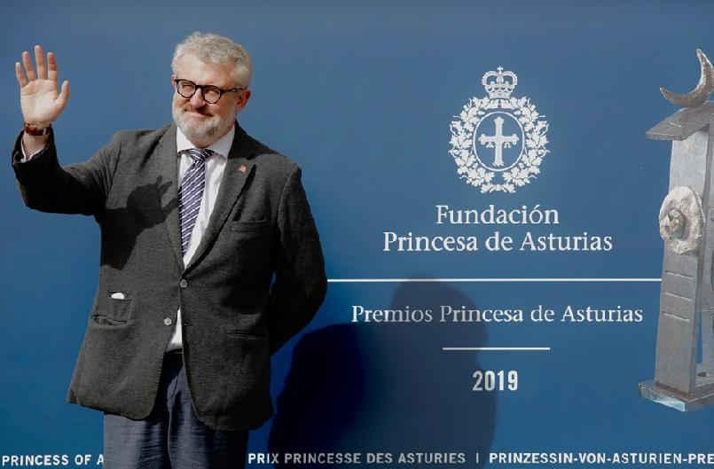 Llegada de Miguel Falomir, director del Museo Nacional del Prado