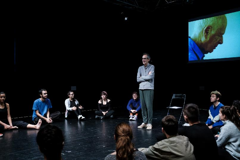 Theatre acting masterclass with actor César Sarachu