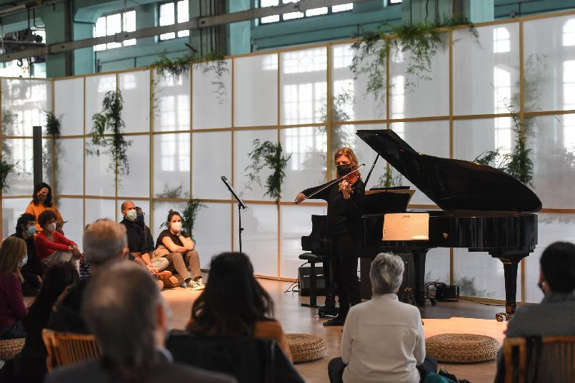 """Body and Mind Space. """"Meditations in Sound"""" workshop-concert."""