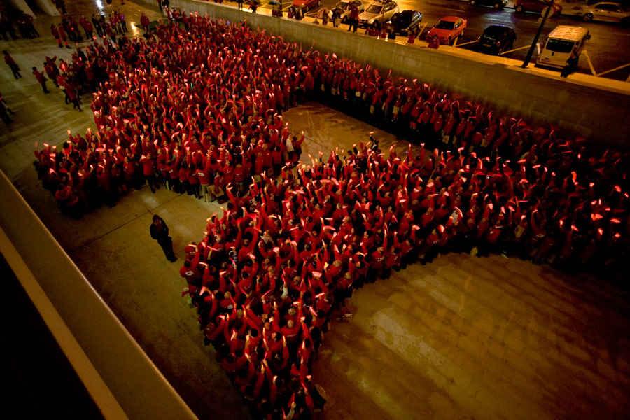 Homenaje al voluntariado de la Cruz Roja