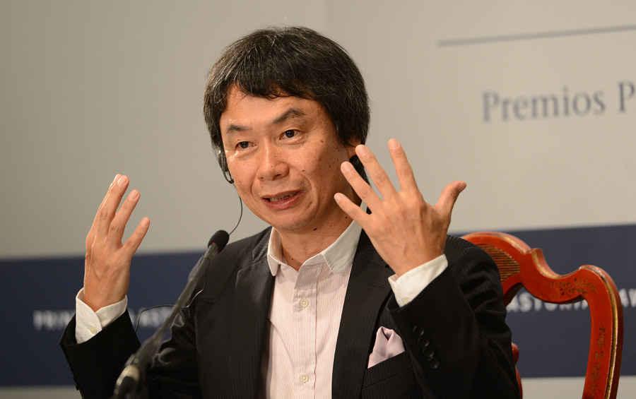 Rueda de prensa de Shigeru Miyamoto