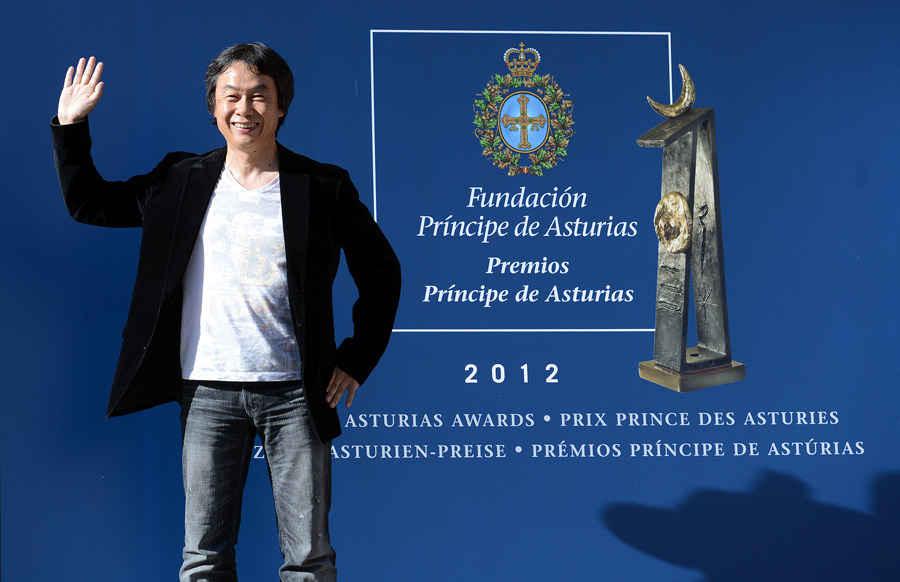 Arrival of Shigeru Miyamoto