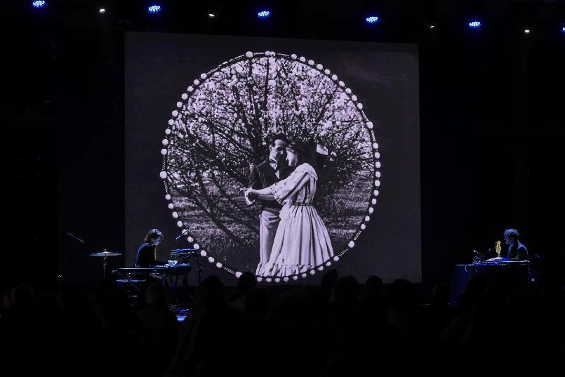 """""""Revealed Women"""" film-concert."""