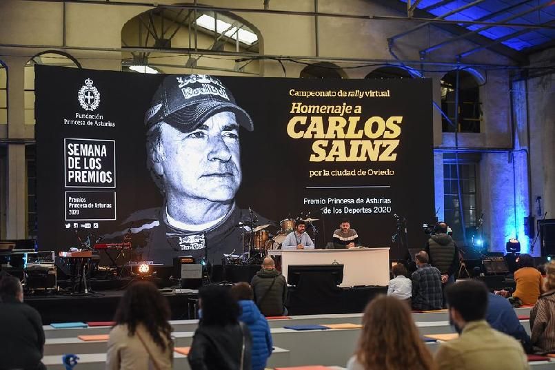 "Second day of the ""Tribute to Carlos Sainz"" virtual rally championship"
