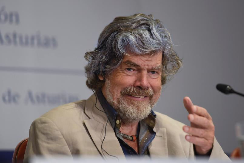 Press conference with Reinhold Messner and Krzysztof Wielicki
