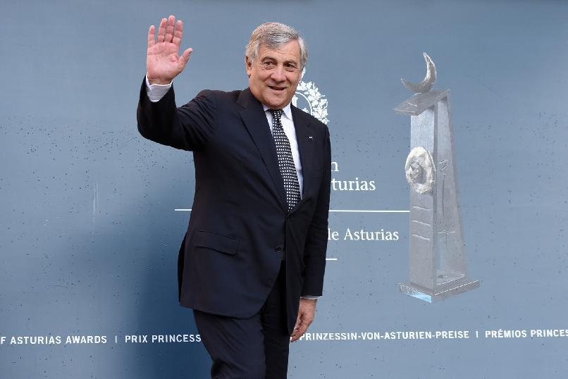 Arrival of Antonio Tajani