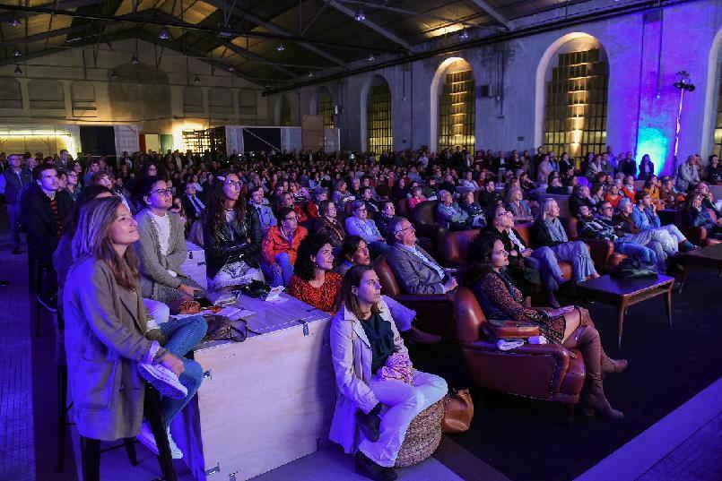 """Inauguración de """"LaFPAbrica. Fábrica en Premios"""": Tríptiko. Una visión inspirada por El Bosco"""""""