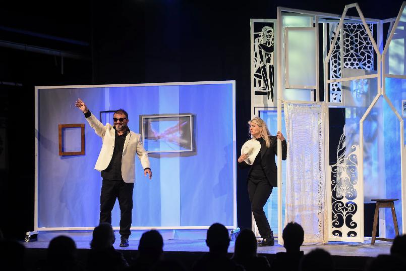 """""""Universe Carrère"""" stage show."""