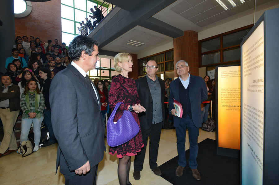 Visit to the Faculty of Philosophy and Arts of Oviedo University