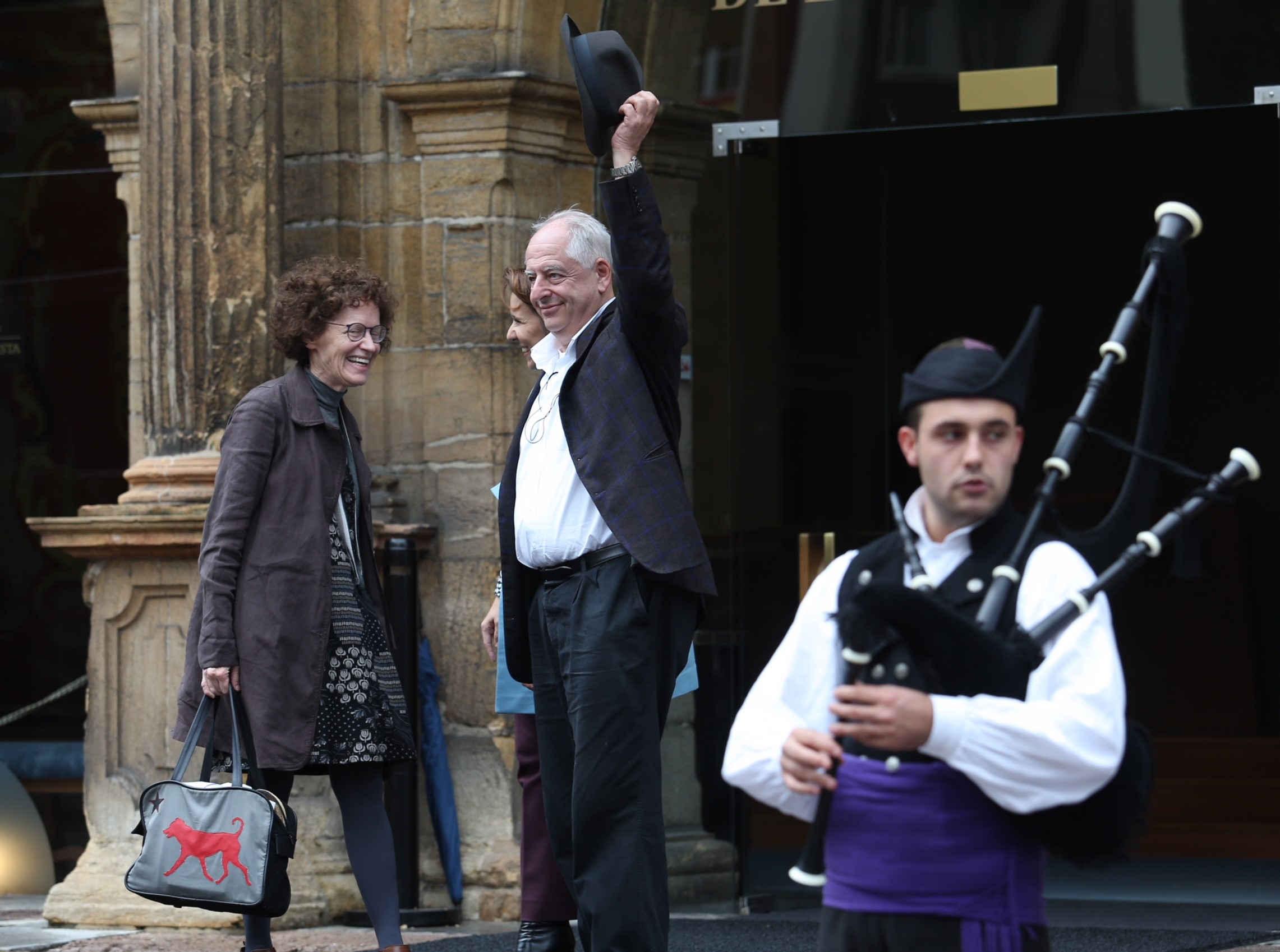Arrival of William Kentridge
