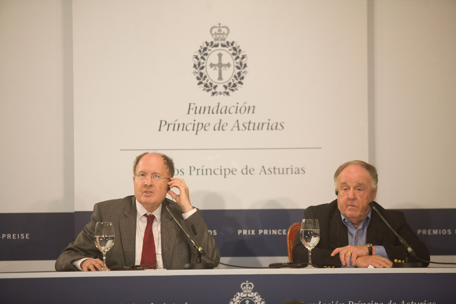 Press conference Sir Gregory Winter and Richard A. Lerner