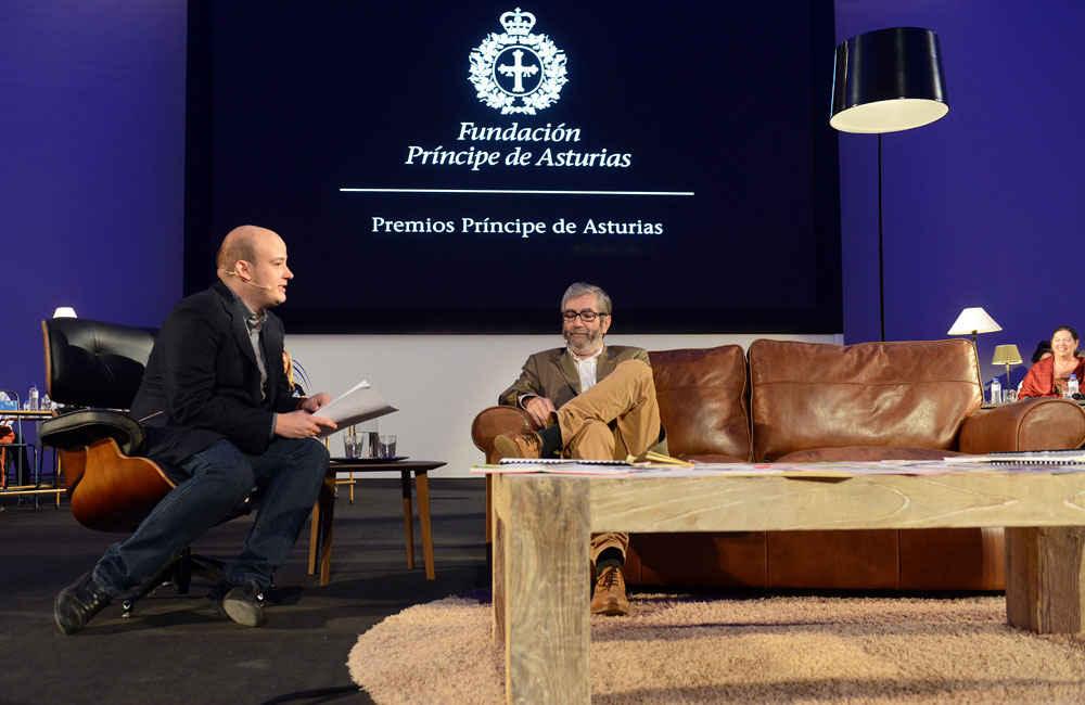 Encuentro literario de Antonio Muñoz Molina