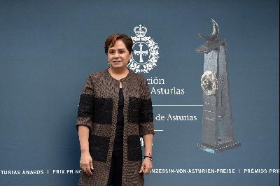 Llegada de Patricia Espinosa