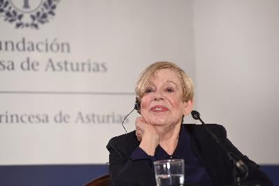Press conference with Karen Armstrong
