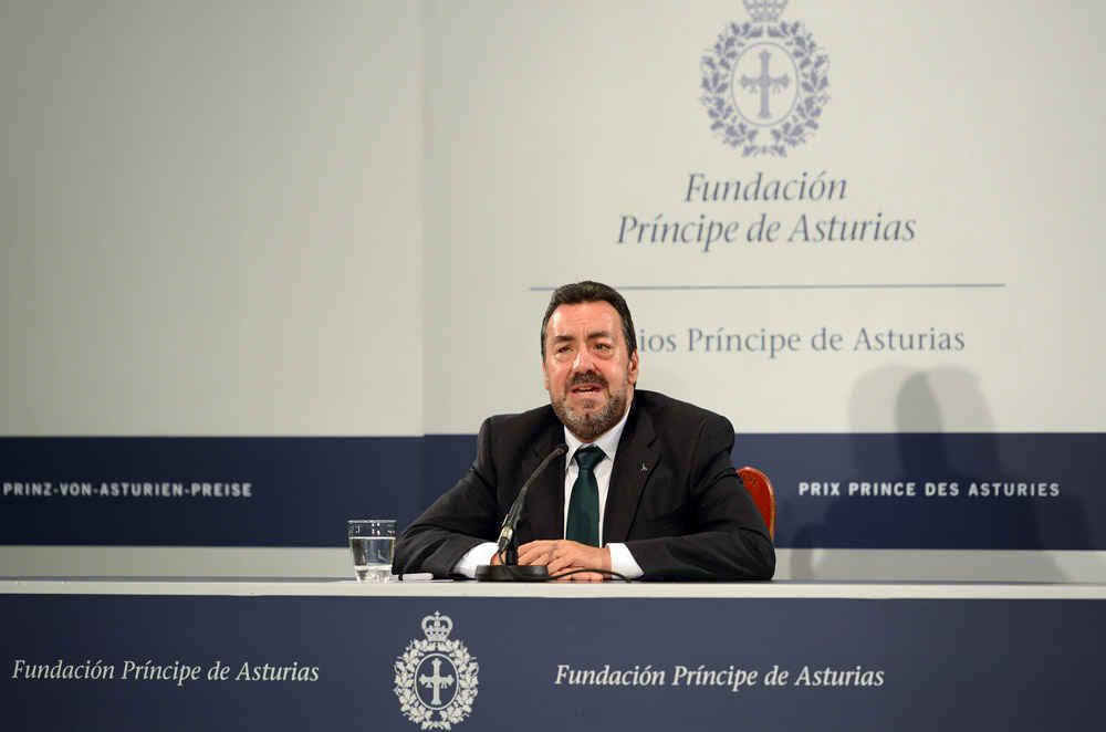Rueda de prensa de Miguel Carballeda, presidente de la ONCE