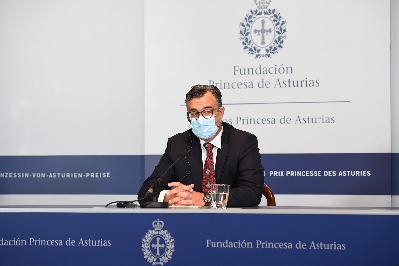Rueda de prensa de Emmanuel Candès