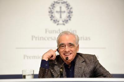 Press conference with Martin Scorsese