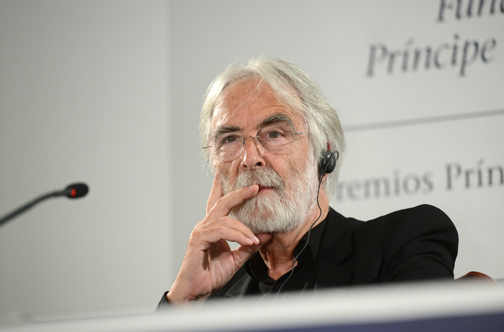 Press conference with Michael Haneke