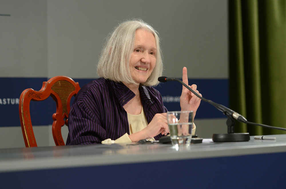 Press conference with Saskia Sassen