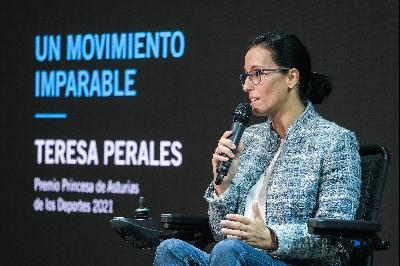 """Taking the Floor. """"An Unstoppable Movement"""". Teresa Perales."""