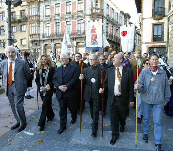 Premio Concordia 2004 al Camino de Santiago